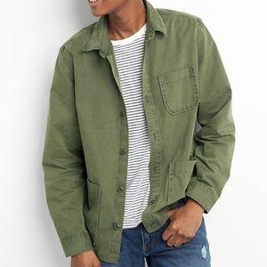 NWT Gap Military Shirt Jacket